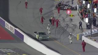 nascar darlington 2011 kevin harvick and kyle busch fight