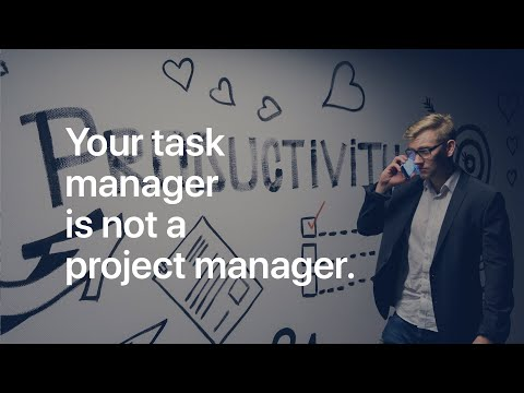 Stop Using Your Task Manager As A Project Manager!