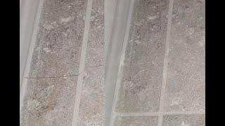 How to Fill a Cracked Tile with Epoxy Filler, AMAZING TRANSFORMATION!
