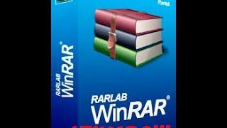 Como Baixar e Instalar o WinRAR Já Ativado!!!