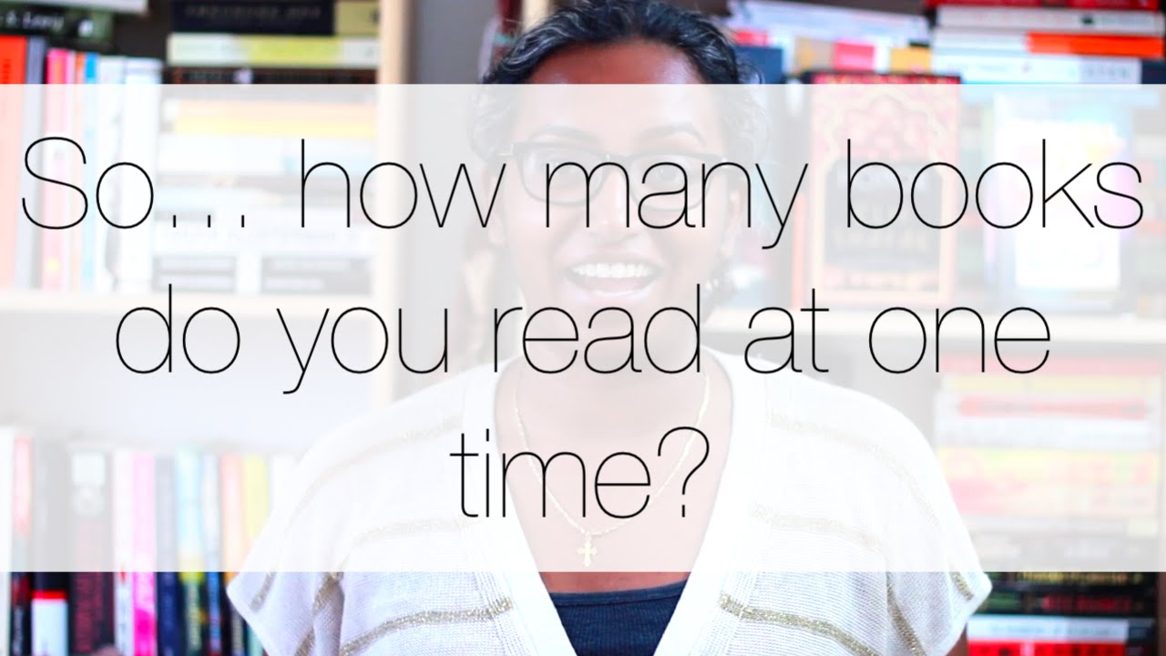 So... how many books do you read at one time? - YouTube