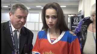 ЗАГИТОВА отказала журналистам в интервью что Алина делала перед матчем СКА ЦСКА