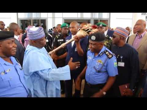 Recovered Senate Mace Returns to National Assembly - YouTube