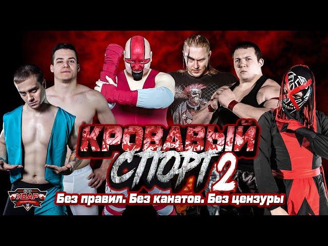 Кровавый спорт 2   Реслинг-шоу НФР «Удар»   IWF Russia Pro Wrestling Show
