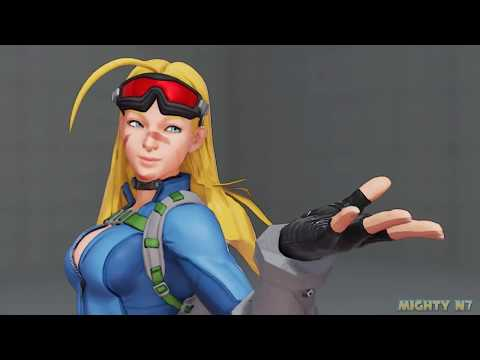 Street Fighter 5 mods Thicc Cammy over Menat