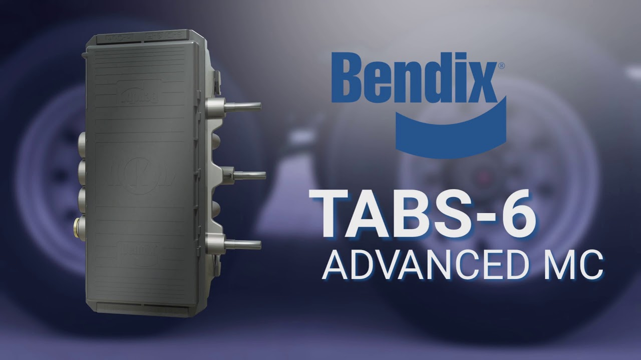 Bendix® TABS-6™ Advanced Trailer Roll Stability System
