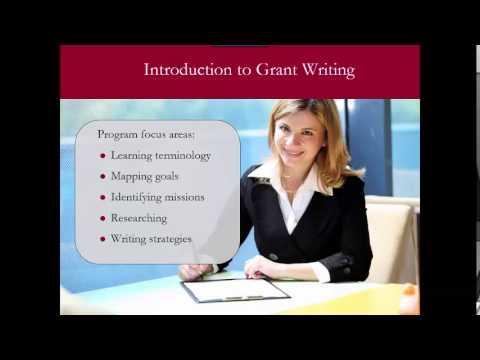 USC Grant Writing Certificate Program - YouTube