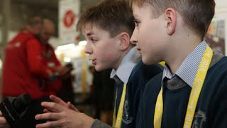 day 1 of the bt young scientist technology exhibition 2016 part 2