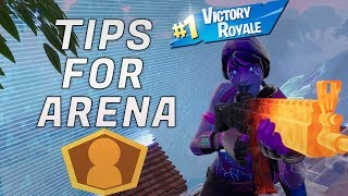 Tips & Tricks for Arena / How to Get to Champions Division - Fortnite Ranked Mode