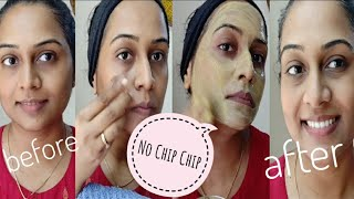 No Chip Chip - Best Home Remedy to remove oiliness, greasiness, zits & Pimples from the face.