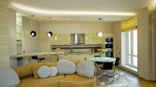Натяжные потолки в квартиру-студию, компания «Строй Сервис»
