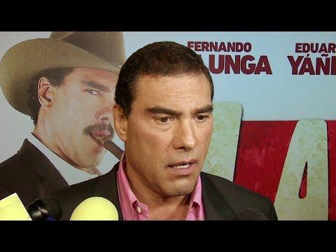 Eduardo Yáñez no habla de su romance con África Zavala