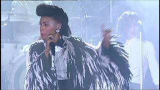 Janelle Monae celebrates Prince at AltaMed PowerUp Gala