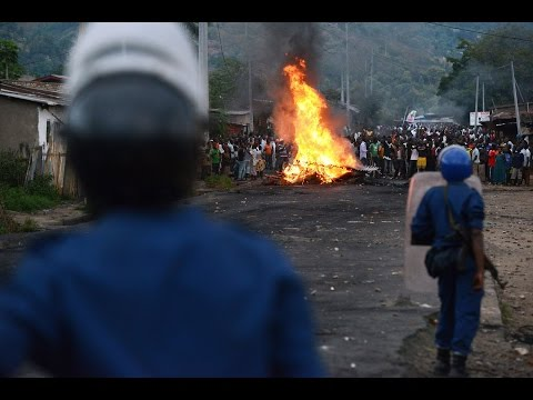 Burundi Capital quiet after night of heavy gunfire