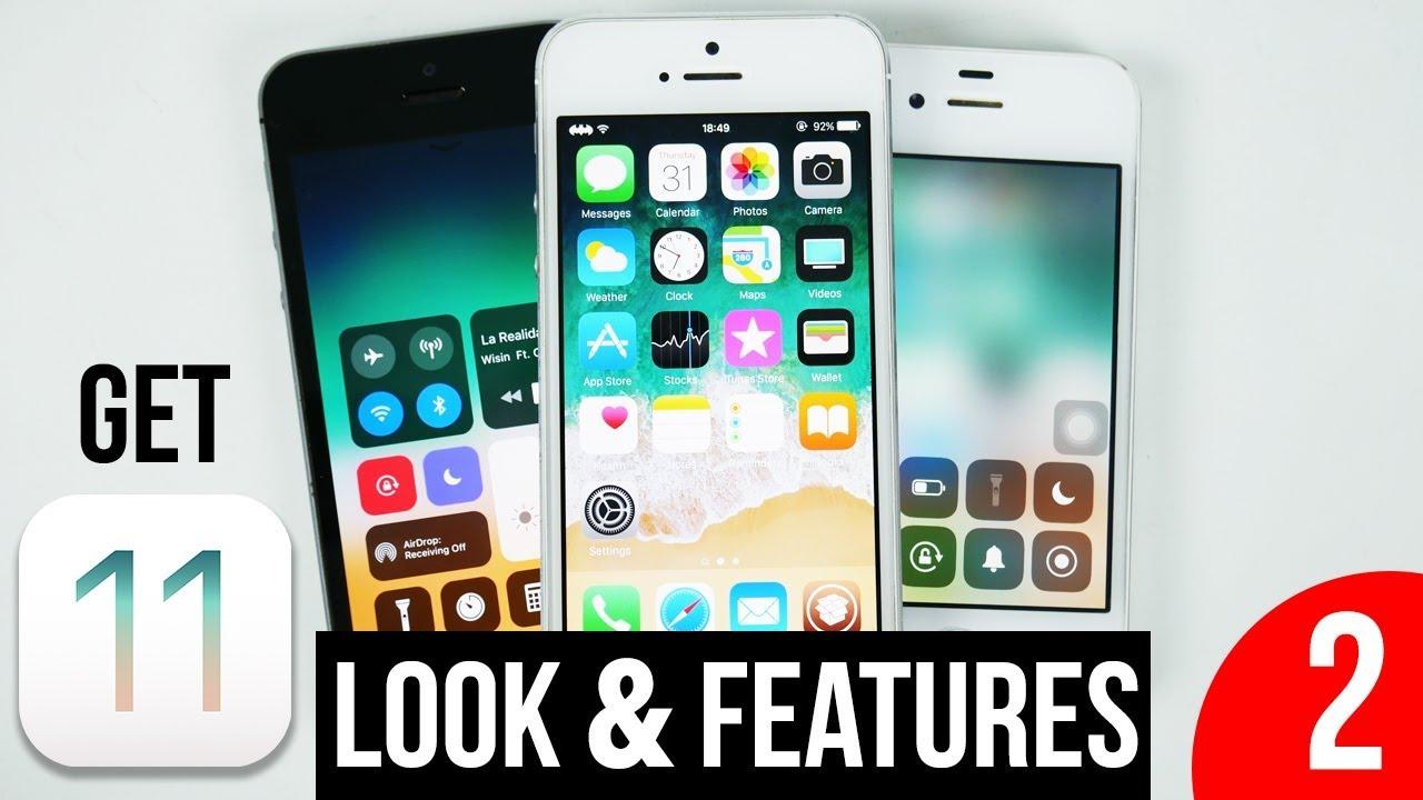 NEW GET IOS 11 Look & Features on IOS 9 / 9 3 5 / 10 2 iPhone 4s, 5, 5c, 5s  ,6 iPad 2, 3, 4, Mini