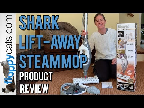 Shark Lift-Away Pro Steam Pocket Mop Product Review Video