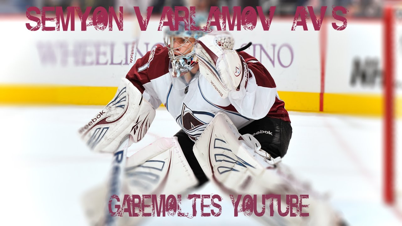 72eb1d3b623 Semyon Varlamov  1 Colorado Avalanche (Winterspell) - YouTube