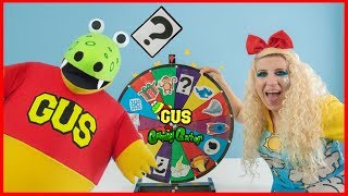 Surprise Mystery Spin Wheel ! Learn Weather with Windy and Gus!