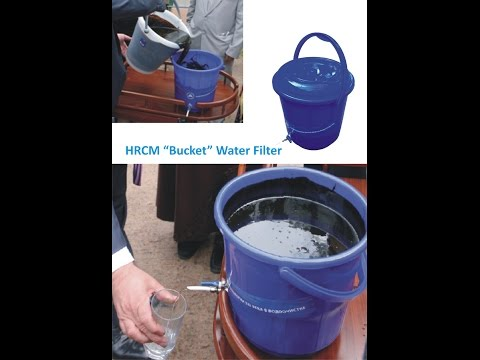 Graphene :Pure Drinking water Invention of Special Filter for India Bucket Filter.Mr.Nitin Gadkari