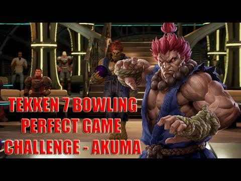 Tekken 7 - Bowling Perfect Game Challenge - Akuma |