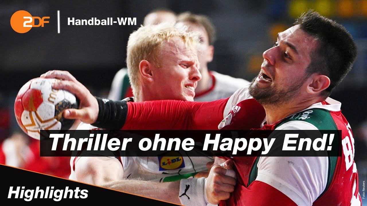 deutschland ungarn highlights handball wm 2021 zdf