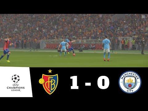 FC Basel vs Manchester City All Goals Full Match 1080p HD | UEFA CL | PES 2018