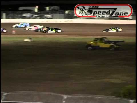 Oshkosh Speedzone Raceway - August 16, 2013 - Grand National Feature