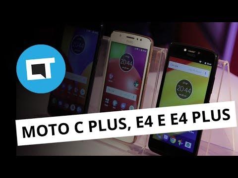 Moto C Plus, Moto E4 e E4 Plus [Hands-on]