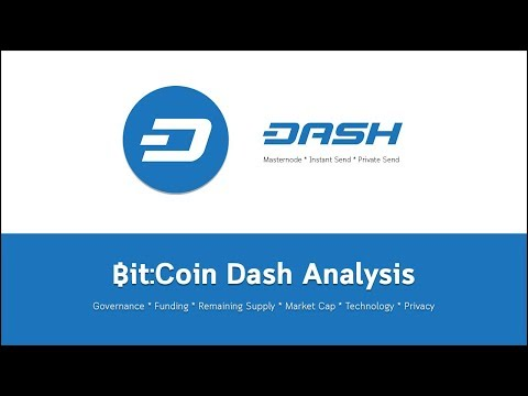 Bit:Coin Dash Analysis Masternode, Instant Send, Private Send