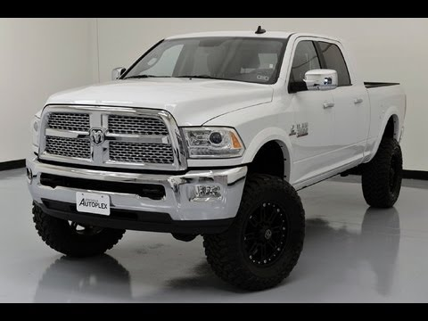 2013 ram 2500 laramie mega cab custom lifted truck lewisvilleautoplexcom used cars dallas youtube - Dodge Truck 2015 Lifted