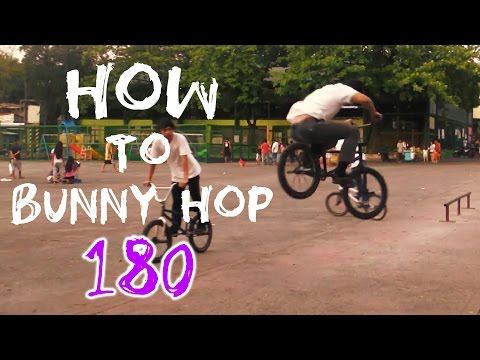 HOW-TO BUNNY HOP 180 BMX