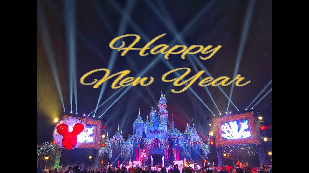 New Year S Eve Fireworks And Countdown At Disneyland Castle Vip Seats Youtube