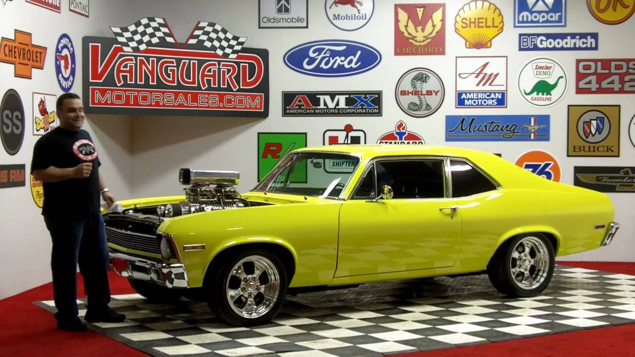 1971 Chevy Nova Blower Motor Classic Muscle Car for Sale in MI ...