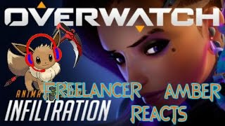Freelancer Amber Reacts: Overwatch Infiltration Reaction