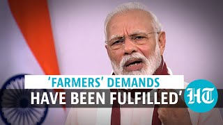 'Agriculture reforms brought new rights to farmers: PM Modi amid protests