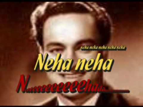 Mukesh,Bengali Song, Jhun jhun Moina nacho na, Rare Unreleased,with Indrani sen