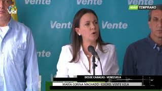 Venezuela - María Corina Machado denunció incremento en la represión en el país - VPItv