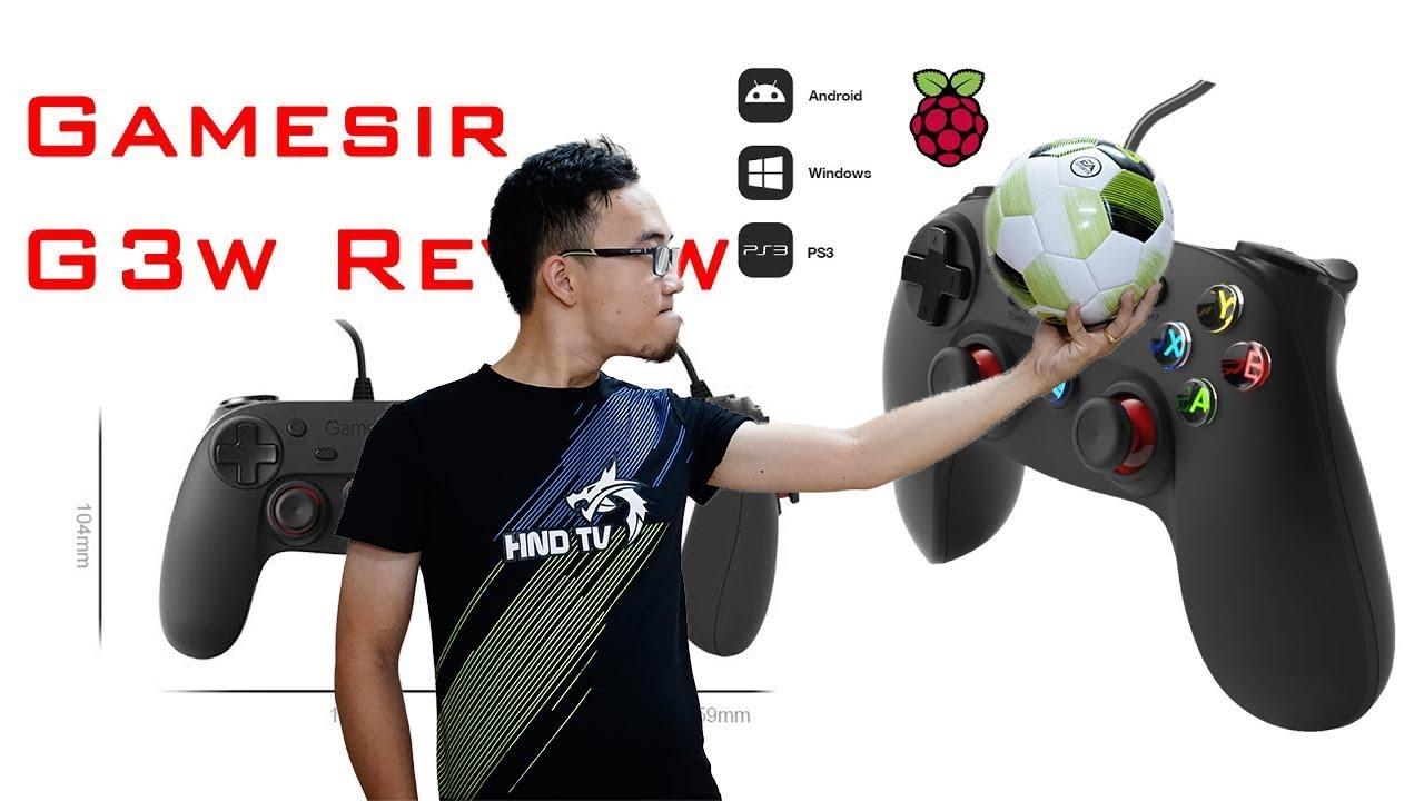 FIFA Online 4 | Giới thiệu tay cầm chơi game (gamepad) FO4 giá rẻ không cần cài đặt – Gamesir G3w