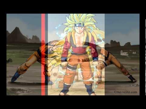goku naruto fusion  YouTube