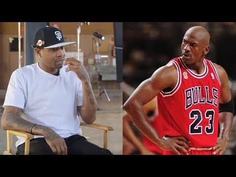 Allen Iverson Reveals the SCARIEST Michael Jordan Trash Talk Moment