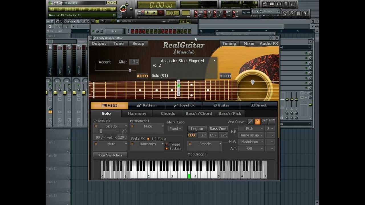 fruity loops electric guitar