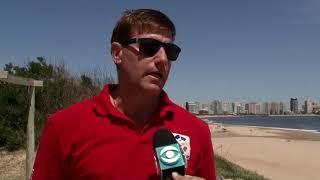 Guardavidas bajaron a playas de Maldonado y cuentan con una app para apoyar su servicio