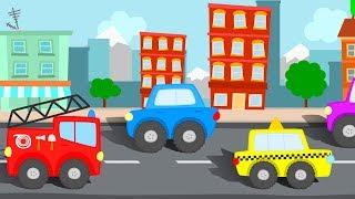 МУЛЬТИКИ ПРО МАШИНКИ. Все серии подряд про машинку Такси, Пожарная машина и другой транспорт