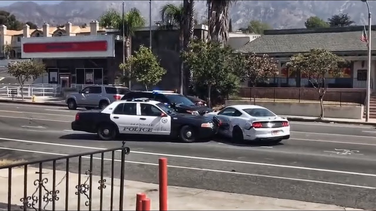 Crazy High Speed Police Chases . Hits & Pit Maneuvers