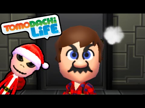 Tomodachi Life 3DS Mad Mario, Jack Skellington Santa Suit Gameplay Walkthrough PART 41 Nintendo