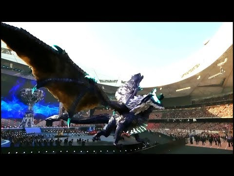 Worlds 2017 Opening  Ceremony | Legends Never Die - League of Legends
