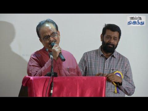 SPB's Emotional Rendition to K Balachander Tamil The Hindu
