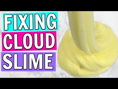 FIXING CLOUD SLIME // GET THAT DRIZZLE BACK!