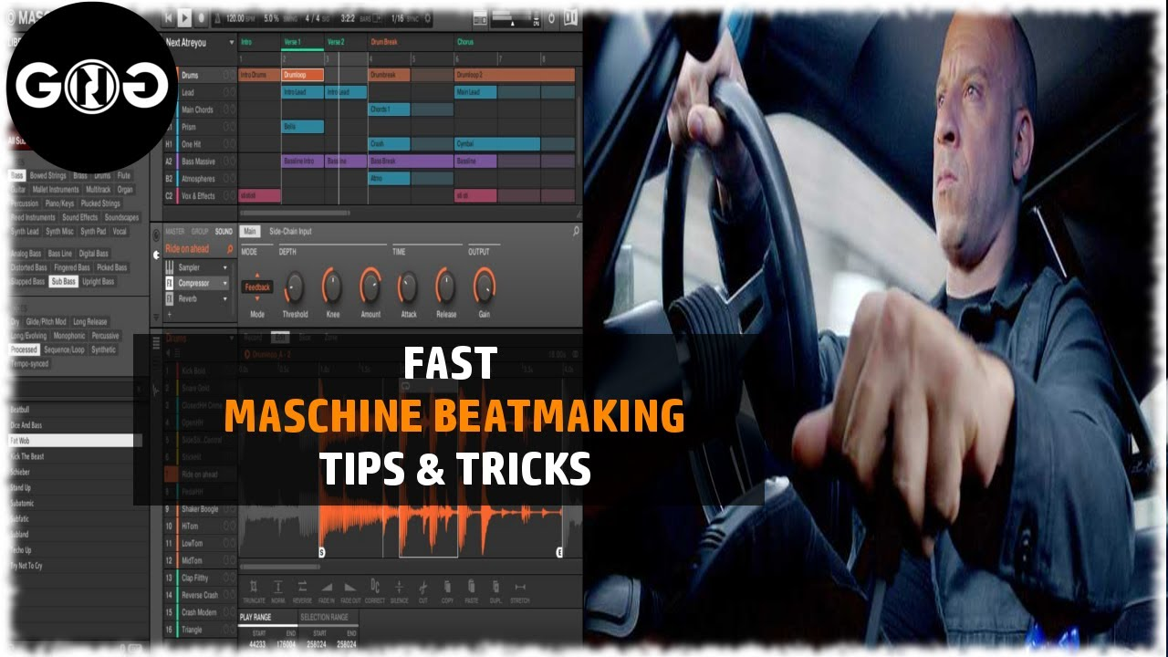 Maschine mk3 making a beat from scratch (tutorial) youtube.