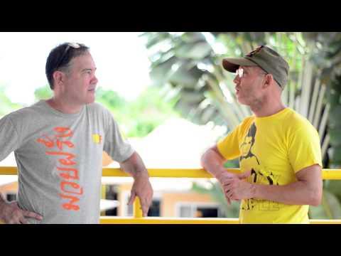 (ITA) Il Maestro Massimo Spinelli e Roberto Gallo Cassarino al 7MuayThai di Rayong